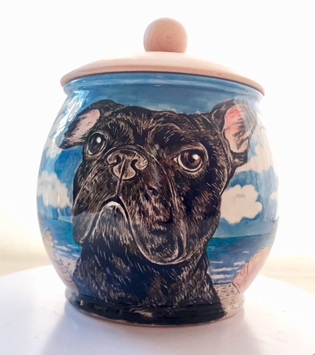 personalized pet urn
